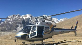 Landing Tour at Everest Base Camp by Helicopter Flight
